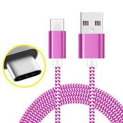 Cable Braided Charger Fast Cord High Quality Connector Durab