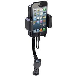 Car Mount Wireless FM Transmitter Charger Holder Extra USB P