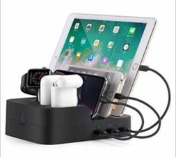 Cell Phone Charging Station Work for iPhone iwatch airpod an