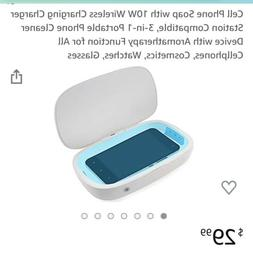 Cell Phone Soap with 10W Wireless Charging Charger Station C