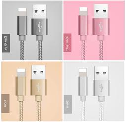 Certified Apple Lightning Cable 6 FT MFi USB Charger for iPh