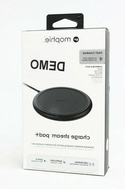 mophie Charge Stream Pad+ 10W Wireless Charging Pad for iPho