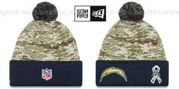 Chargers '2015 SALUTE-TO-SERVICE' Knit Beanie Hats by New Er