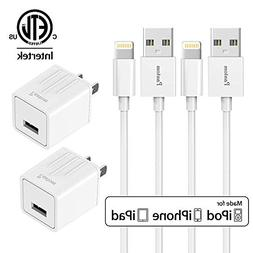 Chargers, Pantom 2-Pack Charging Adapter Travel Wall Charger