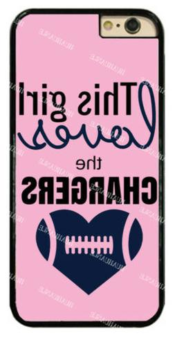 Chic Girl Love San Diego Chargers Pink Hard Phone Case For i