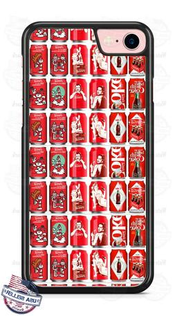 Custom Coca-Cola Pin up Girl Phone Case Cover For iPhone Sam