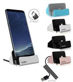 FAST Charge Reversible Type USB C Cell Phone Dock Stand Stat