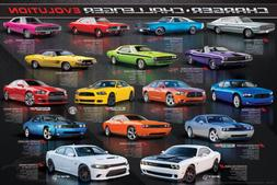 DODGE CHARGER CHALLENGER EVOLUTION 16 Historic Muscle Cars W