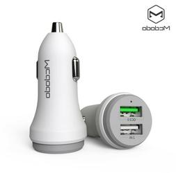 Dual USB 5.4A Car Charger Adapter QC 3.0 Fast Charging for i