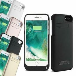 External Battery Charger Power Bank Case For iPhone 6S 6 7 &