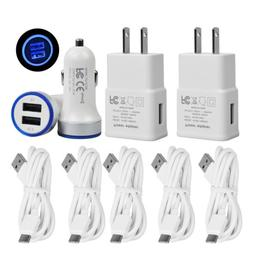 Fast Car Wall Charger+6FT Cord For LG Stylo4 G7 ThinQ Moto Z