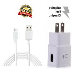 Fast Rapid Wall Charger+Charging Cable Cord For Samsung Gala