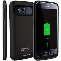 Galaxy S6 Battery Case, Alpatronix BX410 3500mAh Slim Extern