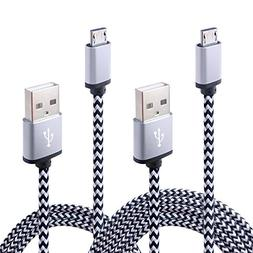 Kakaly Galaxy S6 S7 Charger Cable 2-Pack High Speed  USB Cab