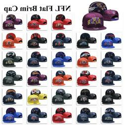 Glossy Embroidered Football Teams Logo Hat Sports Snapback B