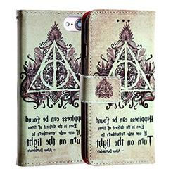 Harry Potter iPhone 6s Wallet Case, IMAGITOUCH Folio Flip PU