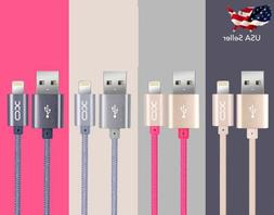 High Speed Braided Sync Charge USB Cable Cord for iPhone 7 P