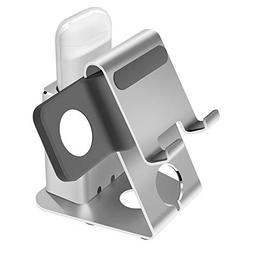 Holder-Mate Heavy Aluminum 3 in 1 Apple Watch Charger Stand