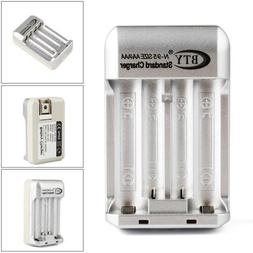 Home Charger for AA AAA NiMH /NiCD Rechargeable Battery US P
