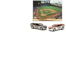 Houston Astros die cast 1:64 Home & Road Dodge Chargers with
