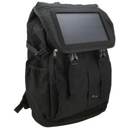 ILIVE IABB56B SOLAR BACKPACK BLUETOOTH CHARGES PHONE LARGE S