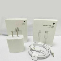 For iPhone 12 11 Pro Max iPad 20W Fast Charger USB C PD Type