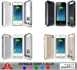 iPhone 5 / 5S / SE Battery Case Slim Charger Cover Portable