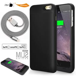 iPhone 6s 7 / 7Plus Battery Case, MFI 120% Extra Charger Bra