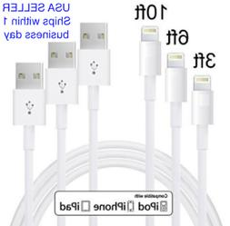 For iPhone 8, X, 7, 6, & 5 Fast  USB Charger Data Sync Lot,