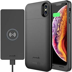 iPhone X/XS Battery Case & Wireless Charger: Alpatronix BXX