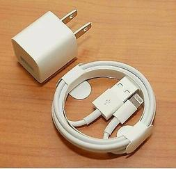 IPHONE charger Cables & Wall Cube for iPhones 5, 6, 7 ,8, xs