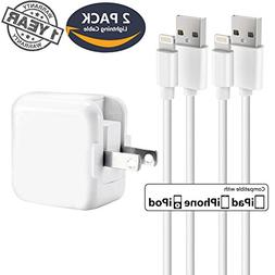 iPhone Charger iPad Charger,Panmy 2.4A 12W USB Wall Charger