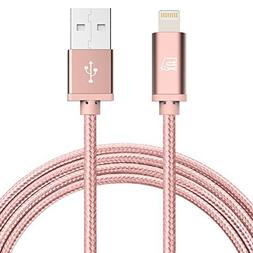 iPhone Charger Lightning Cable -  Durable Braided Apple Ligh