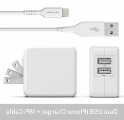 IPhone Charger with Wall Plug 17W MFi Apple Certified Lightn