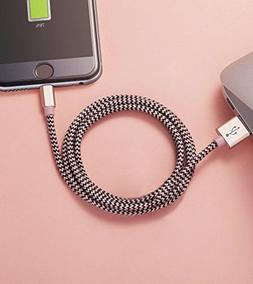 Ambet iPhone Lightning Cable to USB Cable- 3PCS 5 Feet  Rose