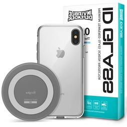 For iPhone X/8/8 Plus | Ringke Wireless Charger + Case + Gla