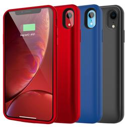 For iPhone X XS Max XR 6 6s 7 8 Plus Charging Battery Case P