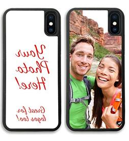 iPhone XR, Simply Customized Photo Phone Case Compatible wit