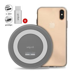 For iPhone XS Max / XR / XS | Ringke Wireless Charger + Fusi