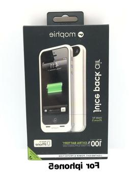 mophie Juice Pack Air for iPhone 5/5s/5se  - White