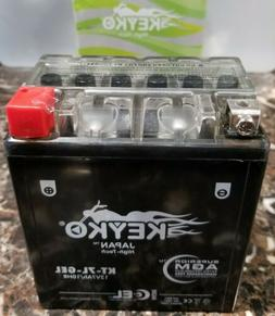 KTX7L-BS Powersports GEL Battery - Replaces: YTX7L-BS, PTX