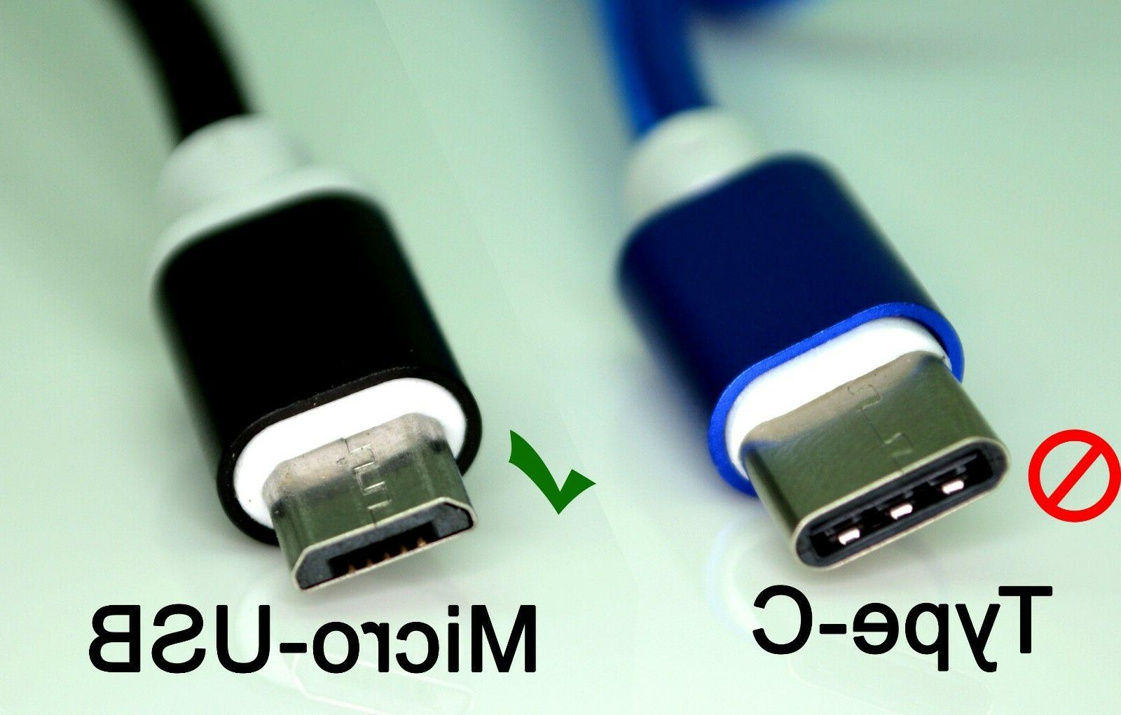 10' Foot USB 2.0 For Android Phones Cord lot