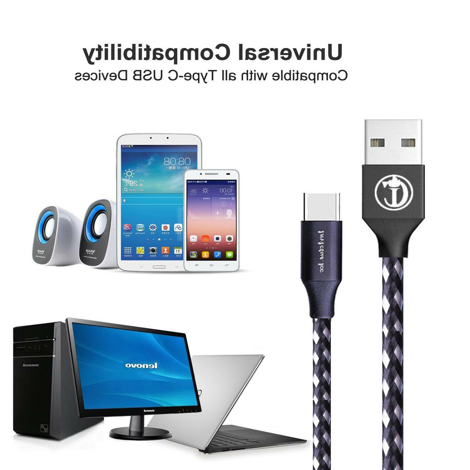 10Ft 3M Micro USB Samsung Android HTC