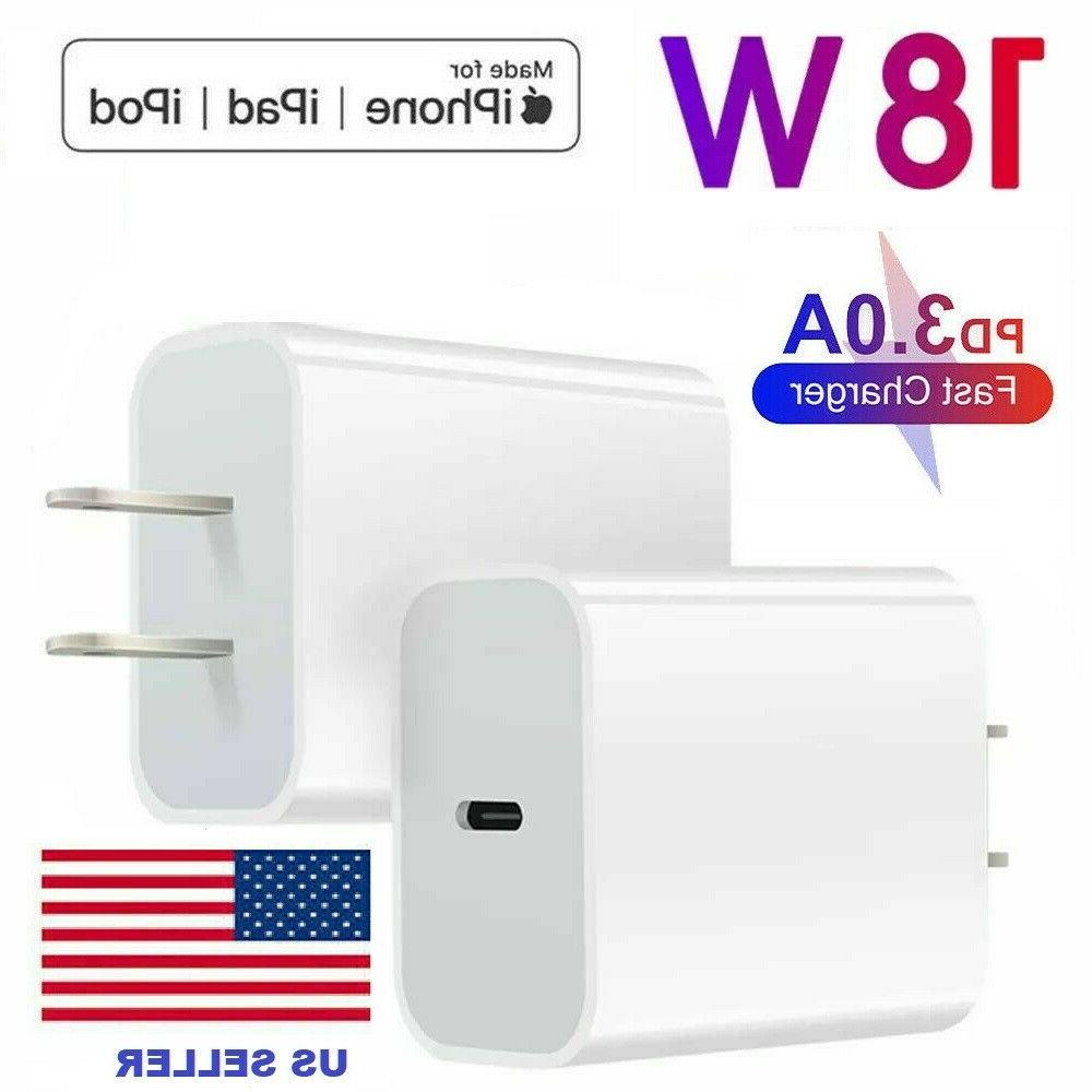 18w usb c power adapter wall charger