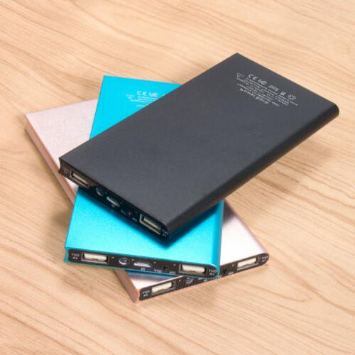 20000mAh USB External Battery Charger Bank for