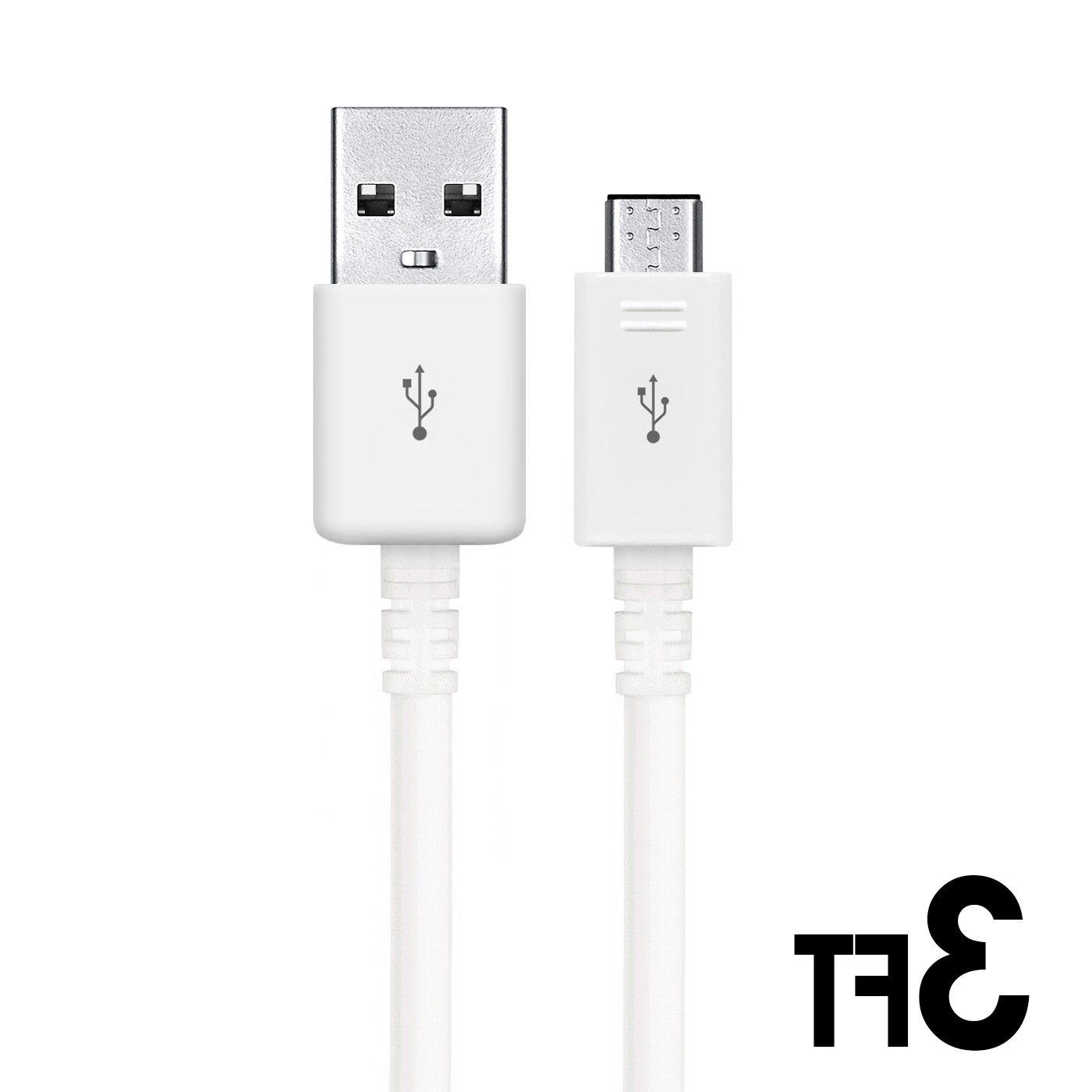 3/6/10ft Micro USB Sync Charger Cord Android Samsung LG