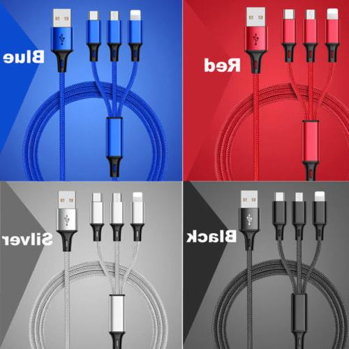 3 in USB Cable Universal Multi Cell Phone Charger