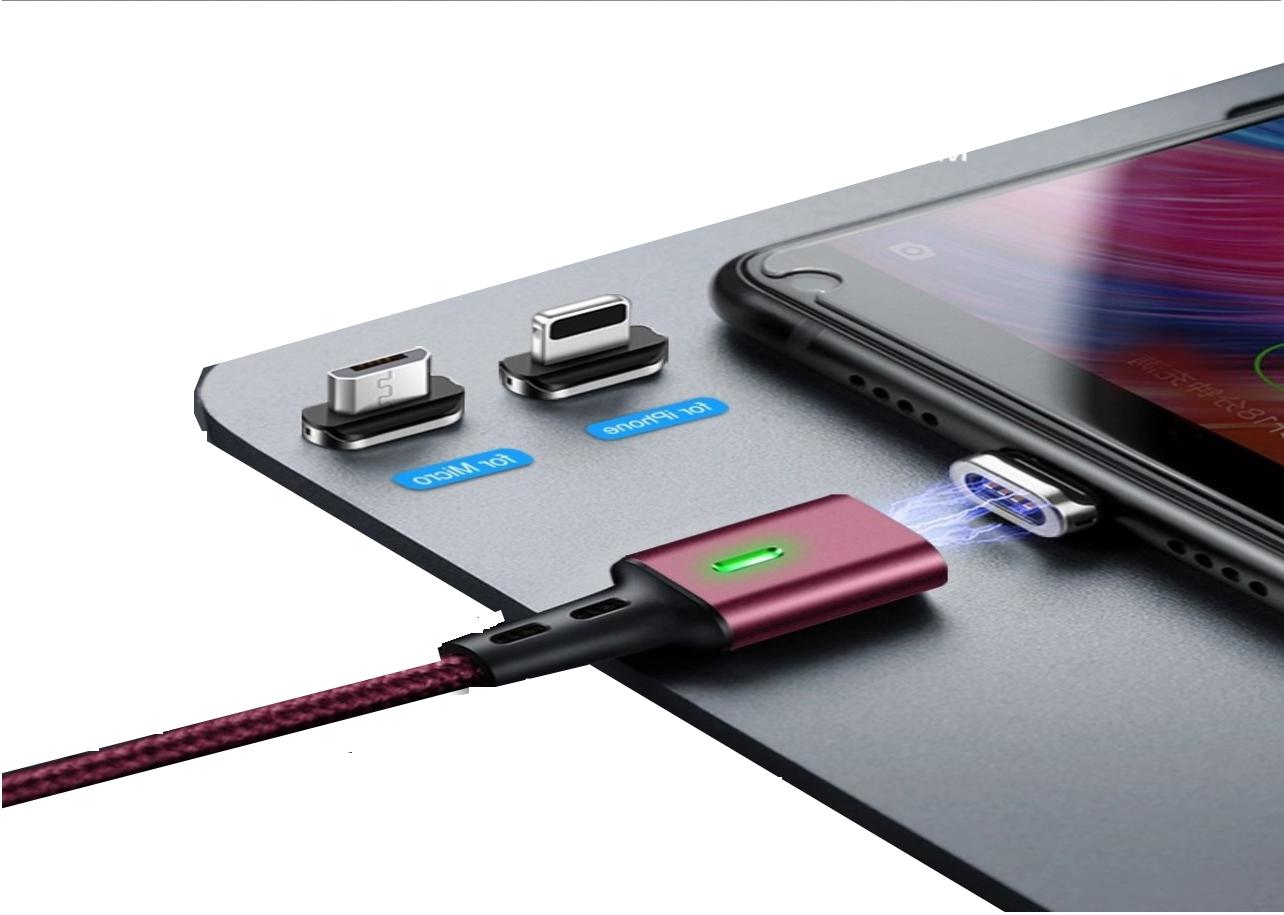 3 in 1 magnetic usb charging cable