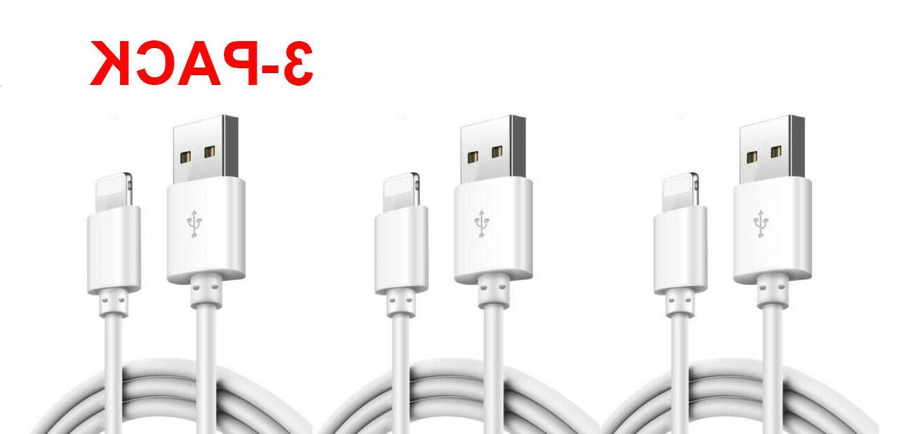 3 pack lightning cable heavy duty