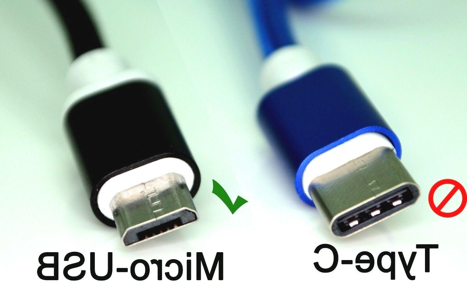 ✔ MIcro USB Nylon Braided USB Charger
